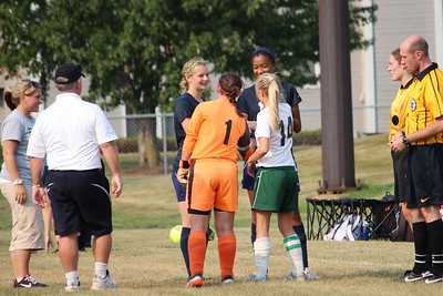 Warrior Girls Soccer vs St. Croix Prep 9-4-12