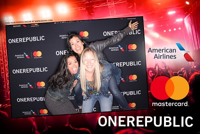 11.30.2016 - One Republic - Sponsored by MasterCard & American Airlines