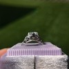.84ctw Transitional Cut Diamond Filigree Solitaire 11