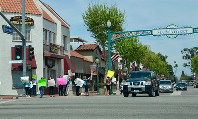 WATER TAX Protest
