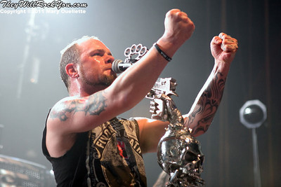 Five Finger Death Punch <br> November 30, 2011 <br> The Palladium - Worcester, MA <br> Photos by: Mary Ouellette