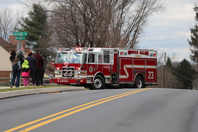 Upper Allen Township Fire Department Santa Run