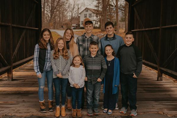Walker, Conlon, Evans Family