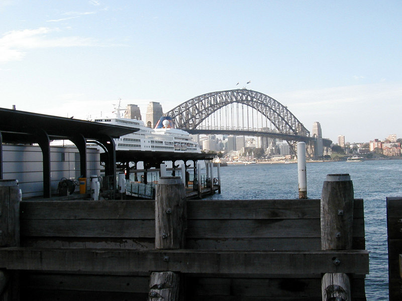 Sydney Bridge from Circular Quay