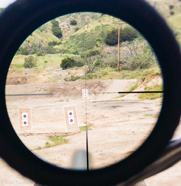 Reticle at Low Magnification