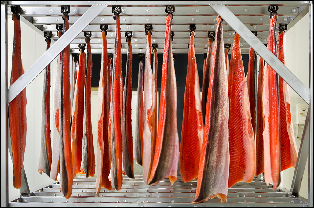 Hanging Fish - Woodbridge Smokehouse