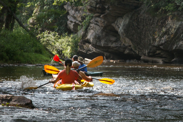 Watauga River Paddle  - July 13, 2014