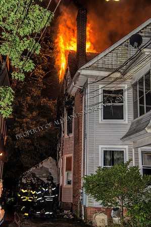 New Haven 3rd alarm 932-34 Elm St.  dwelling fire