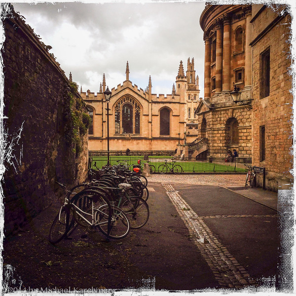 Oxford University buildings, May 2014