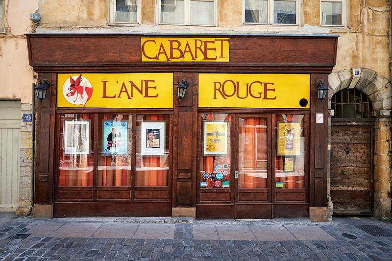 Vieux Lyon IV - L'Ane Rouge