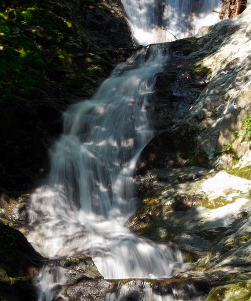 Upper section of Tannery Falls   (Jul 01, 2006, 11:09am)