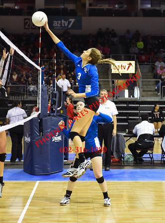 11-6-2015 - Verrado vs Valley Christian  Varsity Volleyball - AIA D3 Playoff
