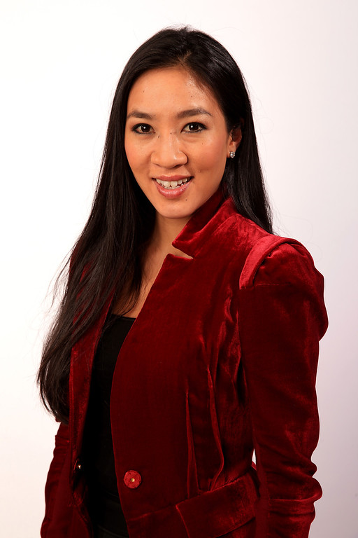 . Figure skater Michelle Kwan poses for a portrait during the USOC Media Summit ahead of the Sochi 2014 Winter Olympics on September 29, 2013 in Park City, Utah.  (Photo by Doug Pensinger/Getty Images)