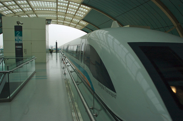 Riding the Maglev