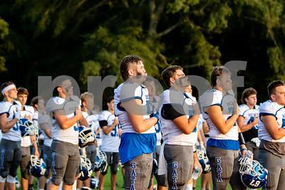 2020 Varsity Football vs Bowdon - Photographer - Grant