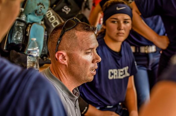 Region Tourney Gm 1 Creek Softball vs Sonoraville 9-27-16