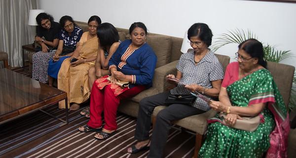 Meeting Relatives , Colombo , Sri Lanka. March 2017.