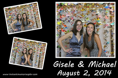 Gisele & Michael's Wedding August 2, 2014