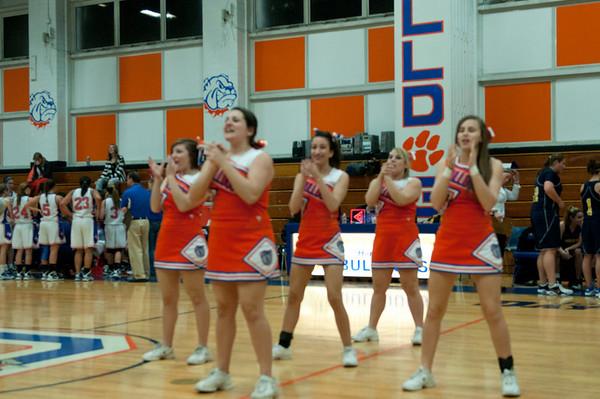 2011-02-04 Cheerleaders - Dayton vs Brearley