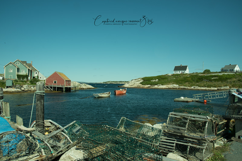 Peggy Cove at  Nova Scotia