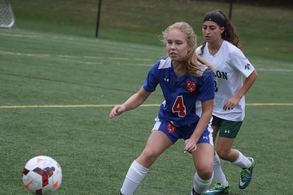 Girls' Varsity Soccer vs. Hebron | October 11