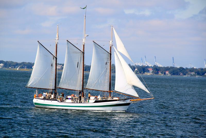 Sailboat Charleston South Carolina