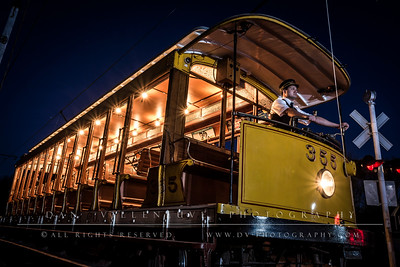 CT Trolley Museum Evening Photo Shoot