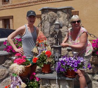Carmel & Liz on the Camino - June 2017