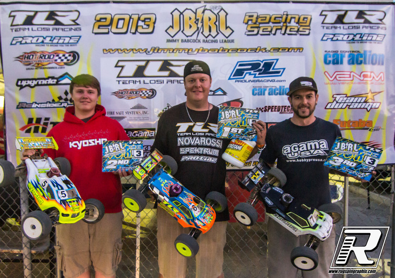 Expert Truggy 1st Adam Drake, 2nd Drew Moller, 3rd Andrew Smolnik