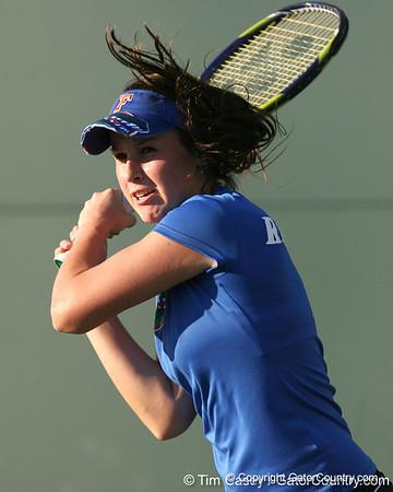 Photo Gallery: UF women's tennis vs. USF, 2/8/10