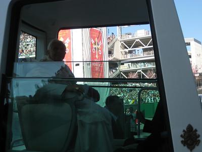 Pope Mass Nat's Stadium