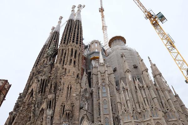 Barcelona Spain - Sagrada Familia