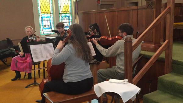 String Ensemble Dec 2015 -- video