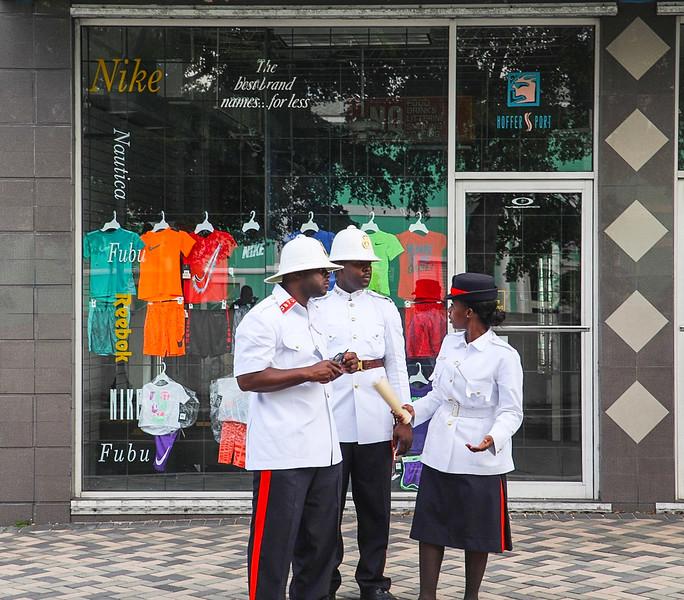 Bahamas Police, Downtown Nassau