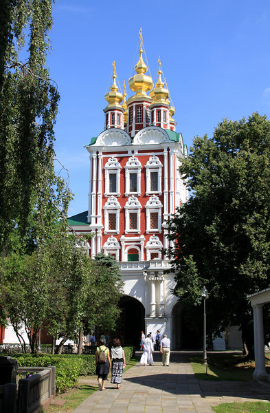 Novodevichy Convent - Transfiguration Gate Church.