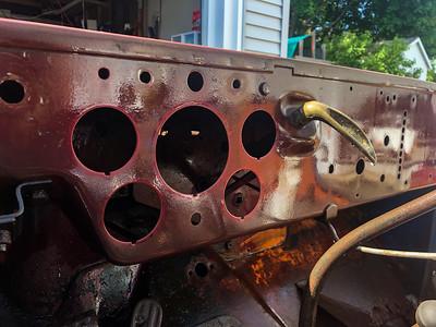 Willys CJ2A Body/Frame Detail