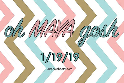 2019-01-19 Maya's Bat Mitzvah