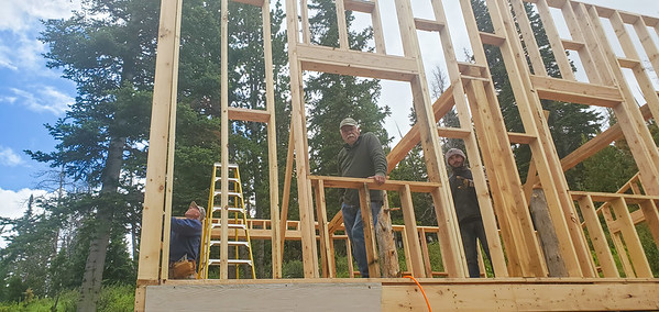 Barn Raising (captured with cell phone)