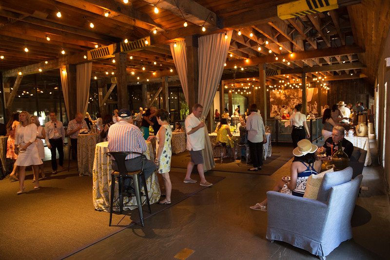 Guests enjoying the Auction Napa Valley Farewell Brunch at Charles Krug winery. Photo ©2017 by Jason Tinacci / Napa Valley Vintners