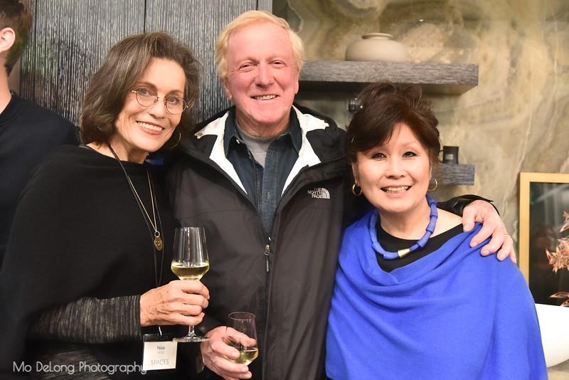 Nikki and Jim Wood and Laureen Chang