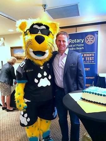 PVB Rotary Celebrates Jaguars & Brian Sexton's Birthday