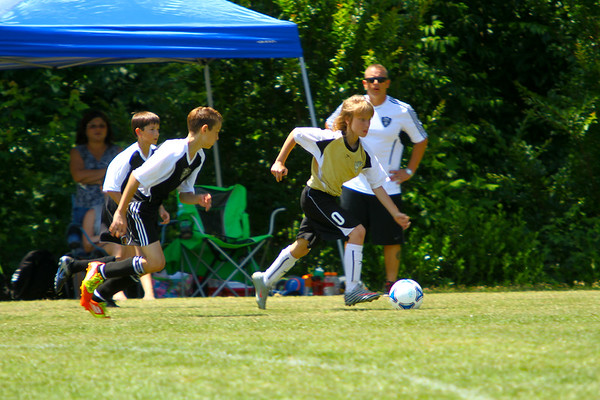 KV Eagles vs KSA BLACK @ 2012 Wrangler/McDonald's Youth Soccer Tournament