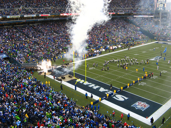 Seahawks Take Down Baltimore Ravens December 23, 2007