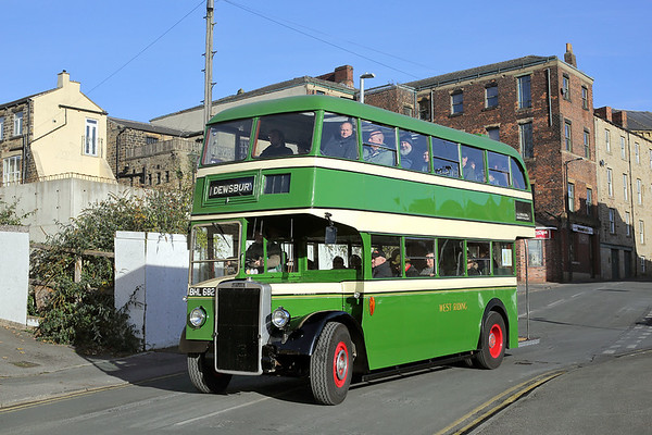 19th November 2017: Dewsbury Bus Museum Open Day