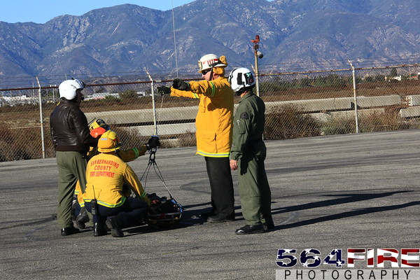 San Bernardino County Sheriff Helitac Training - 11-11-10