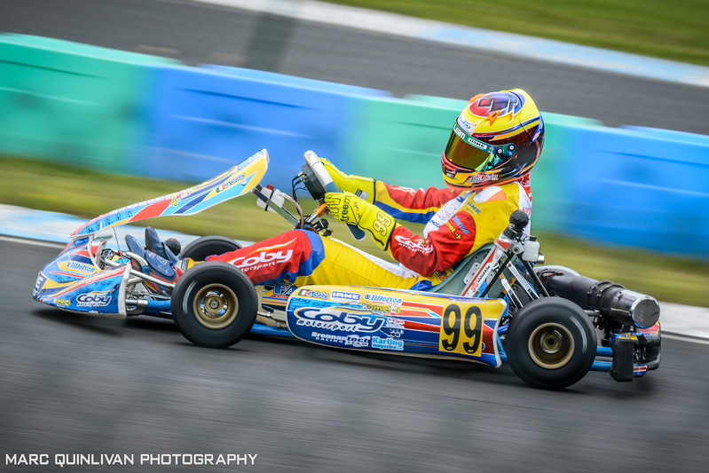 Irish Karting Club - C Plate 2017 - Alyx Coby