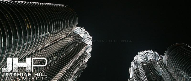 """""""Petronas Wide"""", Kuala Lumpur, Malaysia, 2007 Print ML-682"""