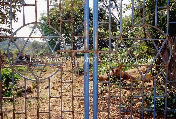INDIA, Chaul (Konkan Coast, Maharashtra). Jewish Cemetery. (2009)