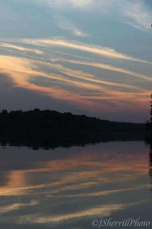 Potomac Sunrises and Sunsets