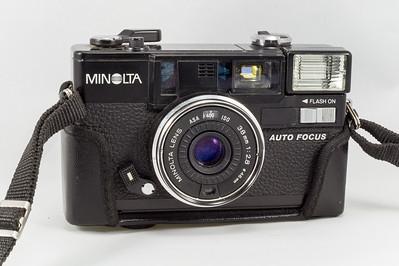 Minolta Hi-Matic AF2, 1981